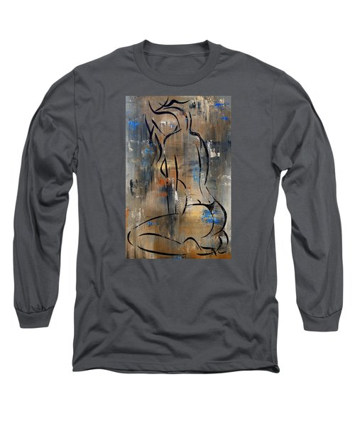 Silent Long Sleeve T-Shirt by Tom Fedro - Fidostudio