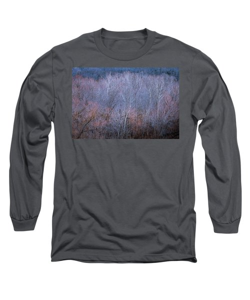 Silent Trees Long Sleeve T-Shirt