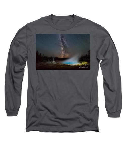 Silex Spring Milky Way  Long Sleeve T-Shirt