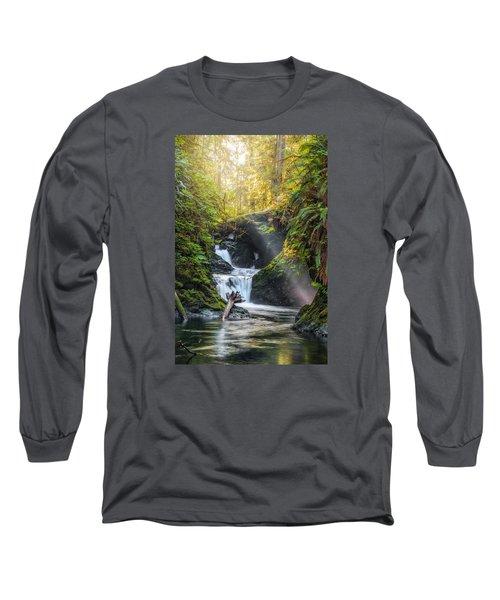 Silk Steps Long Sleeve T-Shirt by James Heckt