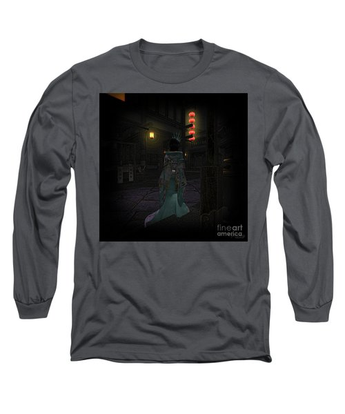 Silks And Parasols 4 Long Sleeve T-Shirt