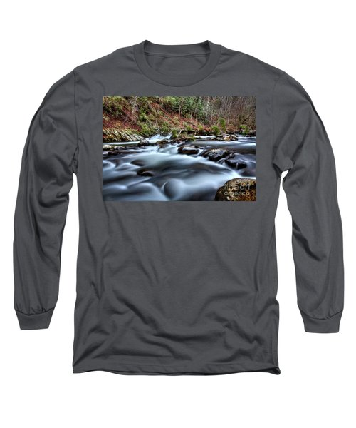 Silky Smooth Long Sleeve T-Shirt by Douglas Stucky