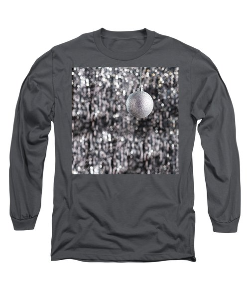 Long Sleeve T-Shirt featuring the photograph Silver Christmas by Ulrich Schade