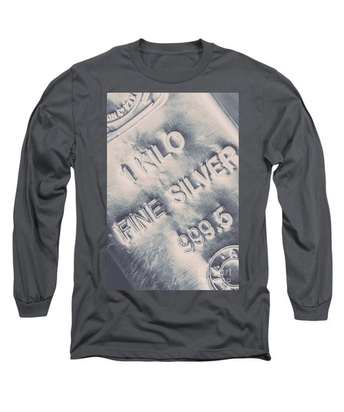 Silver Commodities Long Sleeve T-Shirt