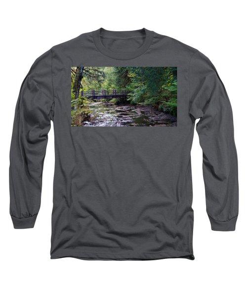 Silver Creek Falls #38 Long Sleeve T-Shirt