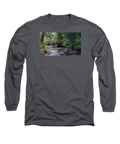 Silver Creek Falls #38 Long Sleeve T-Shirt