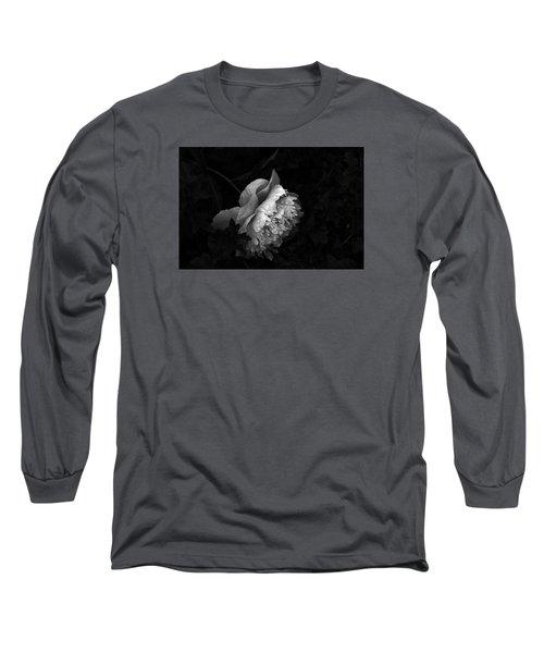 Silver Flower Long Sleeve T-Shirt