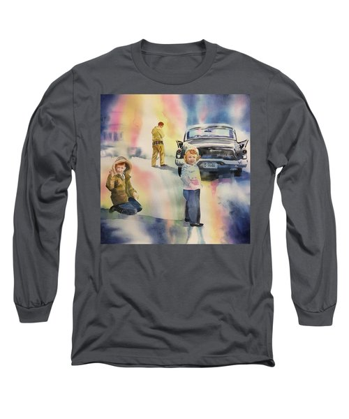 Silver Hawk Long Sleeve T-Shirt