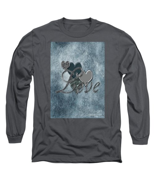 Silver Love Long Sleeve T-Shirt