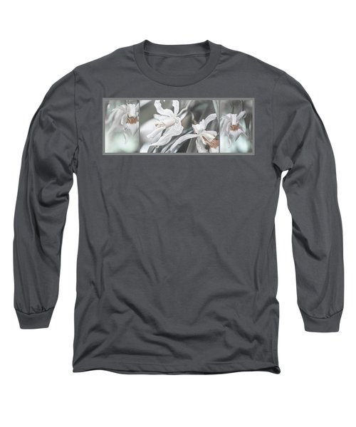 Silver Melody. Triptych Long Sleeve T-Shirt