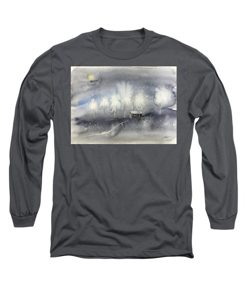 Silver Night Long Sleeve T-Shirt