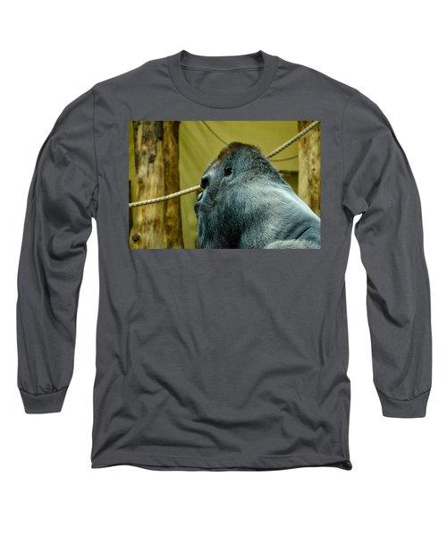 Silverback Gorilla Long Sleeve T-Shirt