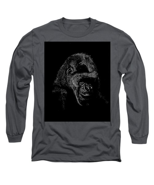 Silverback Long Sleeve T-Shirt by Lawrence Tripoli