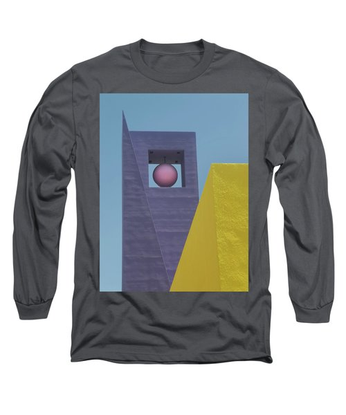 Similar Shapes Different Colors Long Sleeve T-Shirt by Gary Slawsky