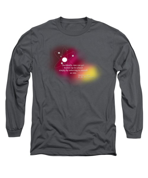 Simply Referring To Oneself As One Long Sleeve T-Shirt by Paulette B Wright