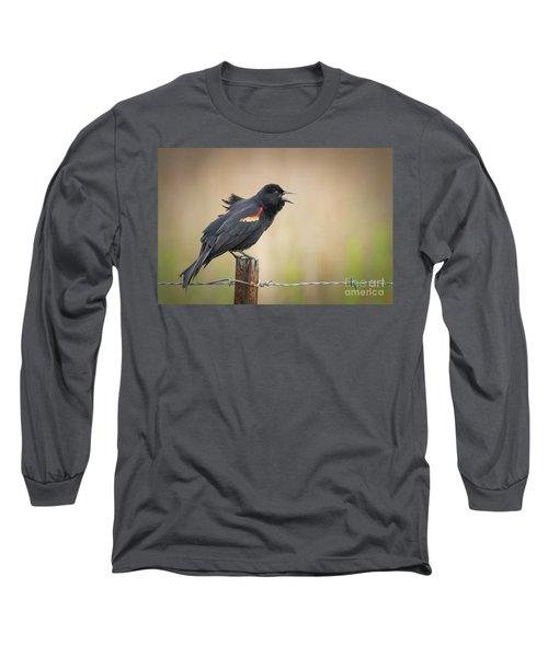 Sing A Little Song Long Sleeve T-Shirt
