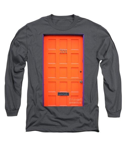 Single Door Long Sleeve T-Shirt