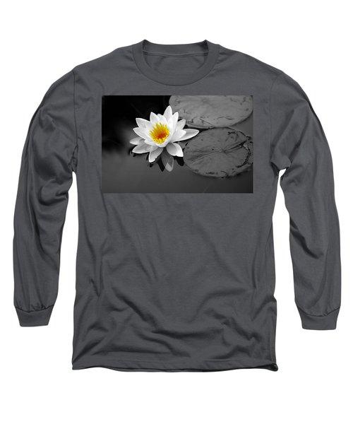 Single Lily Long Sleeve T-Shirt by Shari Jardina