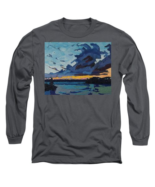 Singleton Sunset Stratocumulus Long Sleeve T-Shirt