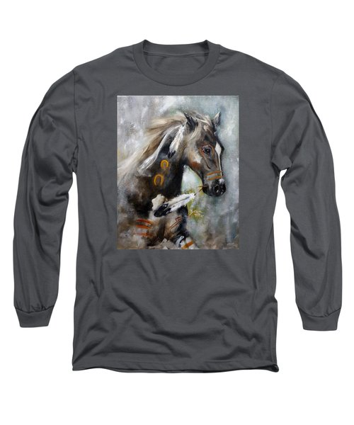 Sioux War Pony Long Sleeve T-Shirt