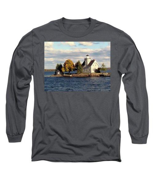Sister Island Lighthouse Long Sleeve T-Shirt
