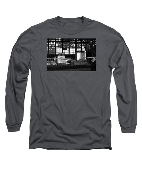 Site With Danger Sign  Long Sleeve T-Shirt by Catherine Lau