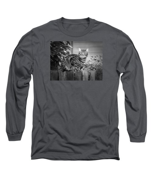 Sitting On The Fence Long Sleeve T-Shirt