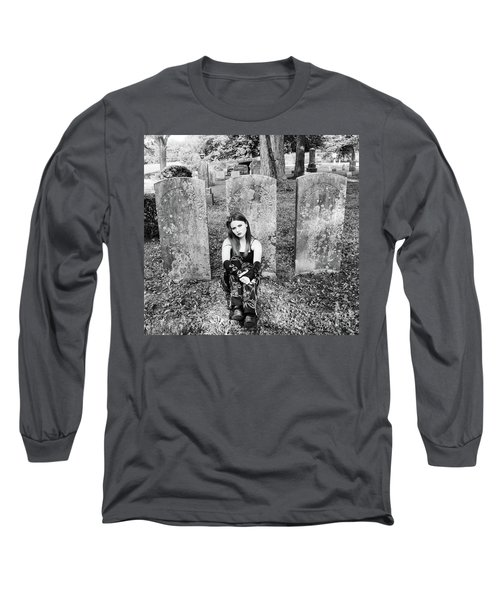 Sitting With The Dead Long Sleeve T-Shirt