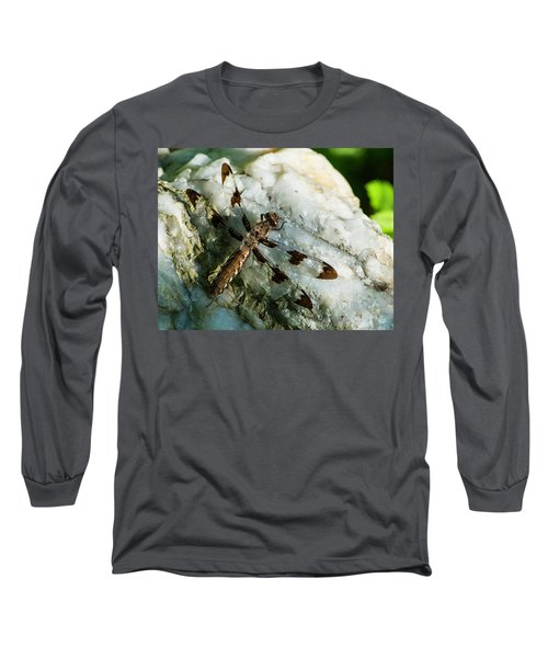 Six Spotted Dragonfly Long Sleeve T-Shirt