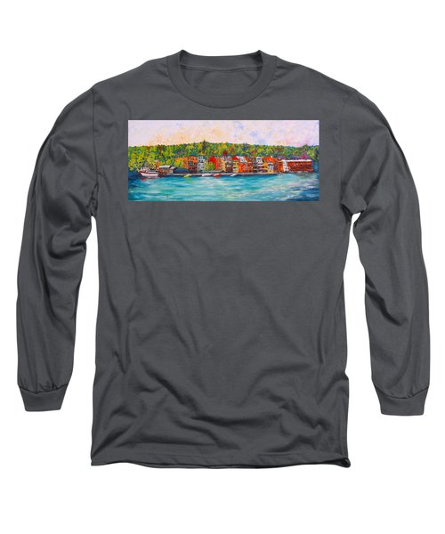 Skaneateles Ny #2 Long Sleeve T-Shirt