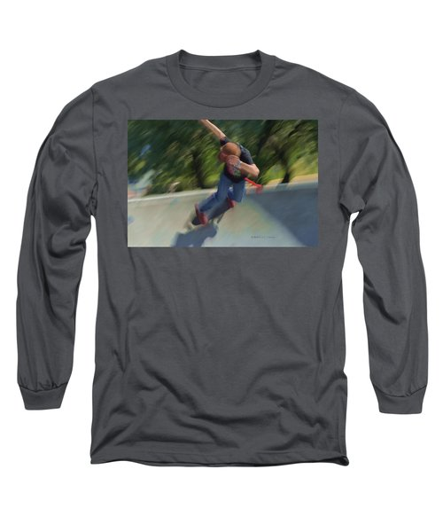 Skateboard Action Long Sleeve T-Shirt