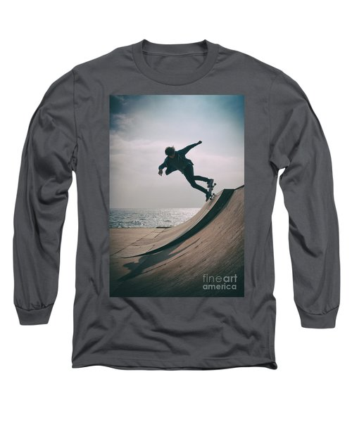 Skater Boy 007 Long Sleeve T-Shirt
