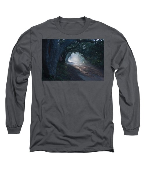 Skc 4671 Road Towards Light Long Sleeve T-Shirt