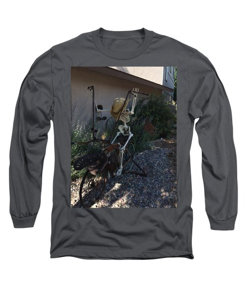 Skeleton's Bike Ride  Long Sleeve T-Shirt