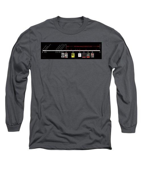 Skh Black Dahlia Inv. Time Line Long Sleeve T-Shirt