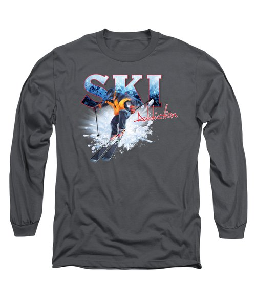 Ski Addiction Long Sleeve T-Shirt