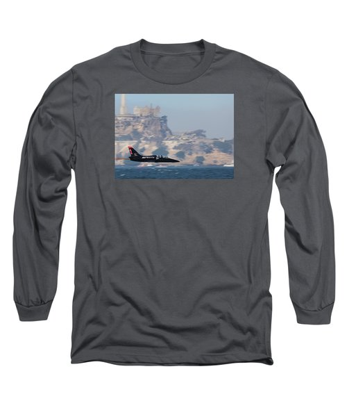 Skimming The Bay Long Sleeve T-Shirt