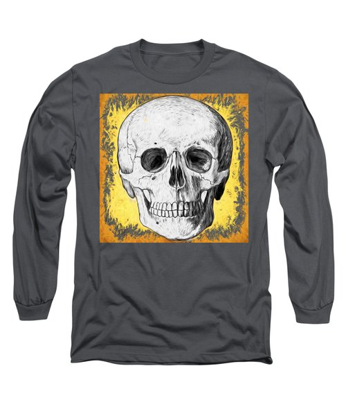 Skull Long Sleeve T-Shirt by Alice Gipson