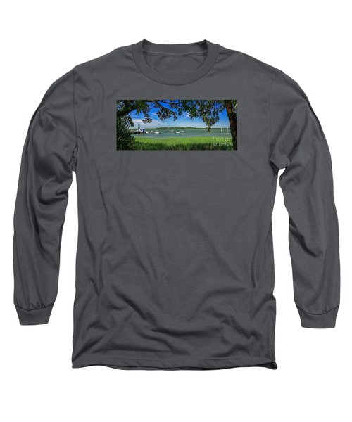 Skull Creek Area Long Sleeve T-Shirt by Paul Mashburn