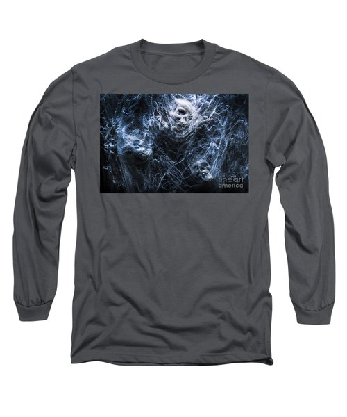 Skulls Tangled In Fear Long Sleeve T-Shirt