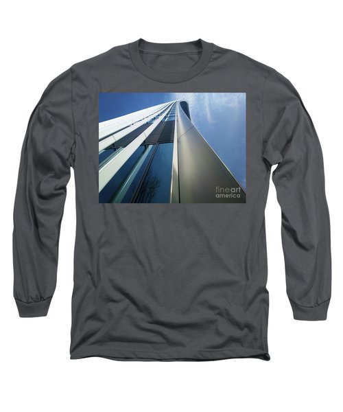 Sky Garden - London Long Sleeve T-Shirt by Hanza Turgul