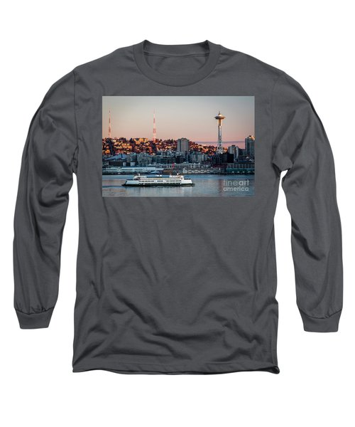 Space Needle.seattle,washington Long Sleeve T-Shirt