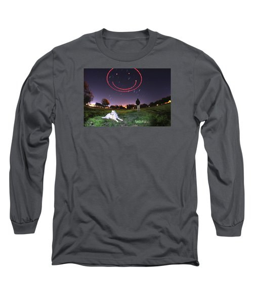 Sky Smile Long Sleeve T-Shirt by Andrew Nourse