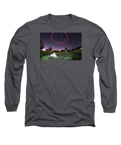 Sky Smile Long Sleeve T-Shirt