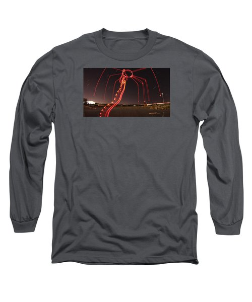 Sky Spider Long Sleeve T-Shirt by Andrew Nourse