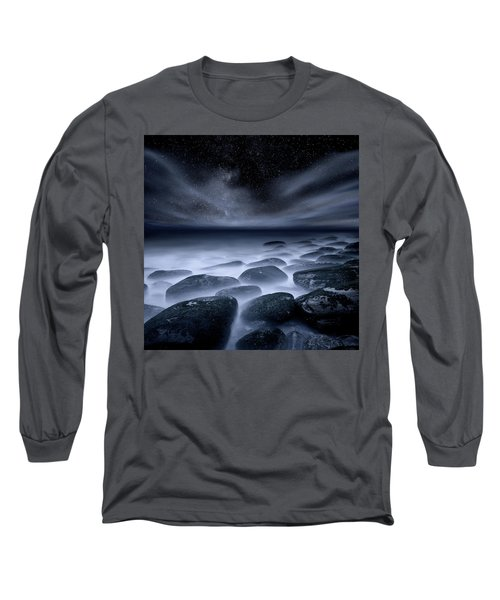 Sky Spirits Long Sleeve T-Shirt by Jorge Maia