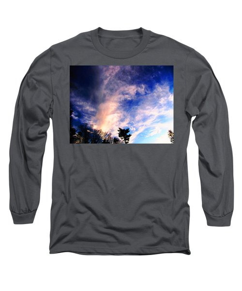 Long Sleeve T-Shirt featuring the photograph Sky Study 5 3/11/16 by Melissa Stoudt