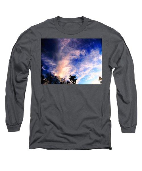 Sky Study 5 3/11/16 Long Sleeve T-Shirt