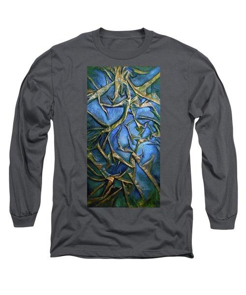 Sky Through The Trees Long Sleeve T-Shirt