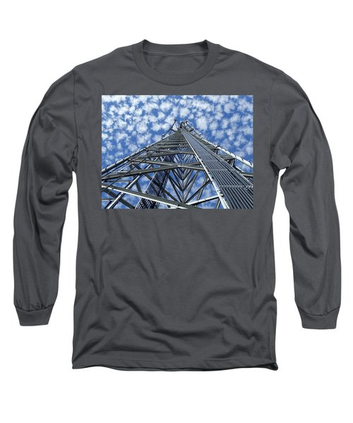 Long Sleeve T-Shirt featuring the photograph Sky Tower by Robert Geary